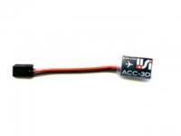 EXP-ACC3D: Mesurer l'acceleration 3axes 24G